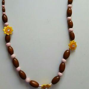 Gymboree Accessories - Gymboree Sunflower necklace